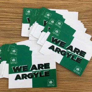 We Are Argyle Stickers
