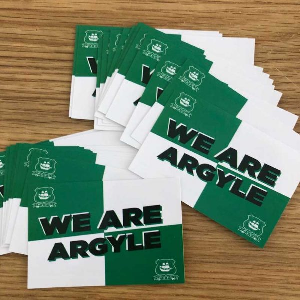 We Are Argyle Stickers
