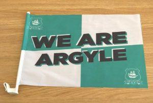 Argyle Car Flag